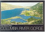 Click here to enlarge image and see more about item cs0543: Rowena Point, Oregon, Columbia River Gorge Postcard