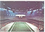 Click here to enlarge image and see more about item cs0559: New Orleans,LA, The Superdome Interior Postcard