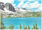 Click here to enlarge image and see more about item cs0570: Lake Marie,Snowy Range, Laramie, WY Postcard