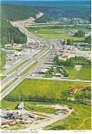 Click here to enlarge image and see more about item cs0577: Aerial of Golden British Columbia Canada Postcard cs0577