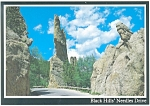 Needles Drive Black Hills SD Postcard cs0587