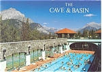 Click here to enlarge image and see more about item cs0597: Cave and Basin, Banff Alberta, Canada Postcard