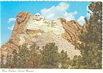 Mt Rushmore National Museum, SD Postcard