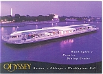 Odessey III Excursion Boat Washington DC Postcard cs0606