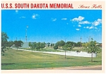 USS South Dakota Memorial,Soux Falls,SD Postcard