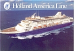 Holland American Line MS Maasdam Postcard cs0613