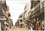 New Orleans LA Royal Street Postcard cs0643 1989
