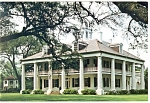 Click here to enlarge image and see more about item cs0645: Burnside, LA, Houmas House Postcard 1989