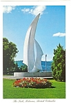 Click here to enlarge image and see more about item cs0648: Kelowna, B.C., Canada The Sails Postcard 1987