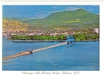 Click here to enlarge image and see more about item cs0649: Kelowna BC Canada Floating Bridge Postcard cs0649
