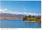 Click here to enlarge image and see more about item cs0650: Kelowna BC Canada Chanagan Valley Postcard cs0650 1987