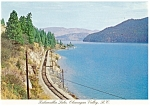 Click here to enlarge image and see more about item cs0651: Kelowna, B.C., Canada,Chanagan Valley Postcard 1987