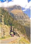 Logan Pass Glacier National Park MT Postcard cs0660