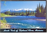 Click here to enlarge image and see more about item cs0665: Flathead River,Glacier National Park Postcard