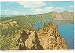 Click here to enlarge image and see more about item cs0679a: Crater Lake, Oregon Postcard
