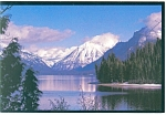 Lake McDonald Glacier National Park MT Postcard cs0683