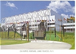 Olympic Arenas Lake Placid NY Postcard cs0688 1988