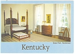 Bardstown KY My Old Kentucky Home Postcard cs0701
