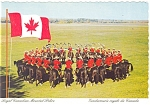 Click here to enlarge image and see more about item cs0707: Royal Canadian Mounted Police, Postcard