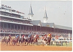 Click here to enlarge image and see more about item cs0709: Churchill Downs Kentucky  Postcard cs0709