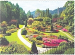 Click here to enlarge image and see more about item cs0722: Butchart Gardens, Victoria, BC,Canada Postcard