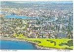 Click here to enlarge image and see more about item cs0724: Aerial View, Victoria, BC,Canada Postcard