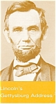 Click here to enlarge image and see more about item cs0728: Lincoln's Gettysburg Address