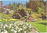 Click here to enlarge image and see more about item cs0736: Butchart Gardens, Victoria, BC,Canada Postcard