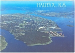 Click here to enlarge image and see more about item cs0737: Aerial of Halifax,Nova Scotia,Canada Postcard