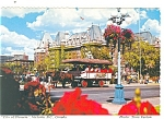 Click here to enlarge image and see more about item cs0745: Victoria BC Canada The Inner Harbor Postcard cs0745