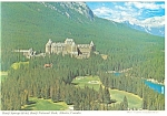 Click here to enlarge image and see more about item cs0749: Banff Springs Hotel Banff National Park Postcard cs0749