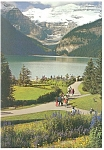 Click here to enlarge image and see more about item cs0754: Lake Louise Banff National Park Canada Postcard cs0754