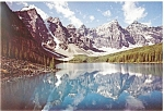 Click here to enlarge image and see more about item cs0755: Moraine Lake, Canadian Rockies Postcard