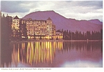 Click here to enlarge image and see more about item cs0757: Chateau Lake Louise Banff National Park Canada Postcard cs0757