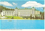 Click here to enlarge image and see more about item cs0759: Chateau Lake Louise,Banff National Park Postcard