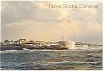 Click here to enlarge image and see more about item cs0785: Lighthouse Peggy s Cove Nova Scotia Postcard cs0785