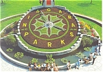 Click here to enlarge image and see more about item cs0786: Niagara Parks Floral Clock Postcard