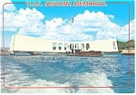 Click here to enlarge image and see more about item cs0797: USS Arizona Memorial Pearl Harbor HI Postcard   cs0797