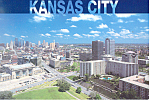 Kansas City, Missouri Postcard