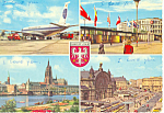 Click here to enlarge image and see more about item cs0855: Frankfort am Main Germany Airport Postcard cs0855