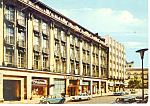 Click here to enlarge image and see more about item cs0856: Hannover,Germany Kastens Hotel Cars 70s Postcard 1976