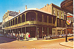 New Orleans  Antoine s Restaurant Cars 60s Postcard cs0857 1967
