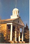 Dodgeville, Wisconsin, Iowa County Courthouse Postcard