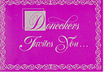 Doneckers of Ephrata, PA, Advert. Postcard