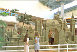 Click here to enlarge image and see more about item cs0908: Arcadia, CA, Fashion Park, Sculpture Postcard