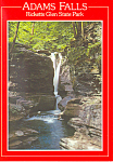 Adams Falls,Ricketts Glen State Park, PA Postcard