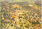 Aerial View Bloomsburg PA Postcard cs0946