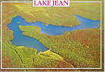 Lake Jean,Ricketts Glen State Park, PA Postcard