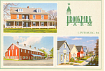 Brook Park Farm Lewisburg Pennsylvania Postcard cs0971