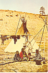Click here to enlarge image and see more about item cs0977: 1896 Native American Photo Postcard
